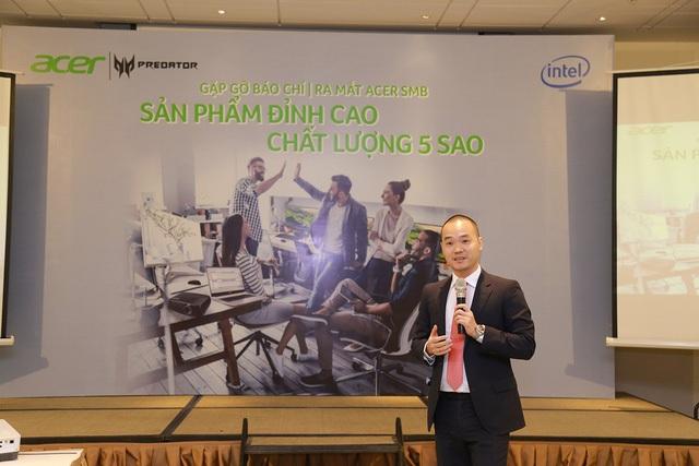 Ông Võ Ngọc Diện, Tổng giám đốc Acer Việt Nam