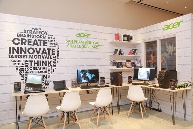 Các sản phẩm Acer mới mang về Việt Nam
