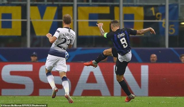 Inter đã đánh bại Tottenham 2-1 tại lượt đi nhờ sự chói sáng của Icardi