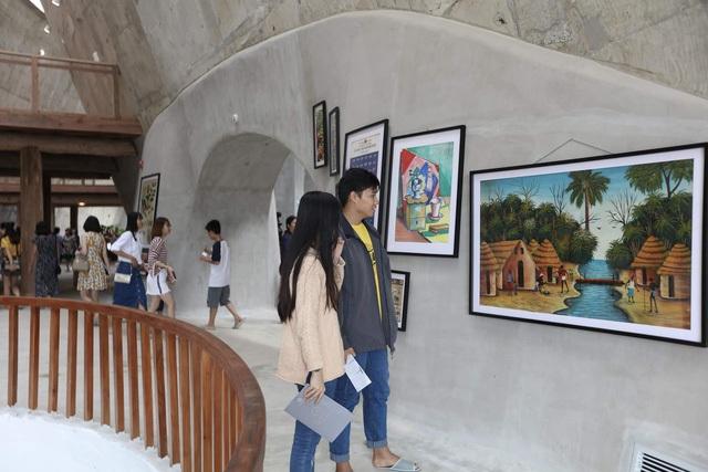 Hàng ngàn du khách đã tới tham quan bảo tàng ngay trong ngày mở cửa chính thức