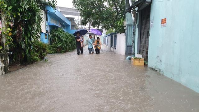 Sài Gòn ngập khắp nơi, cây đổ đè người đi đường tử vong - 8