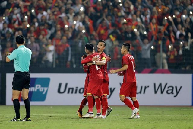 Đội tuyển Việt Nam thi đấu tốt trước Campuchia
