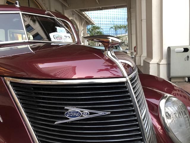 """""""Soi"""" chi tiết những chiếc xe cổ từ Hồng Kông tới Hà Nội - 5"""