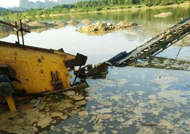 Nhiều tài sản khác cũng bị ngập nước.