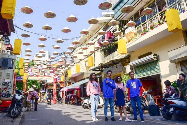Độc đáo con đường nón lá ở phố cổ Hà Nội - 14