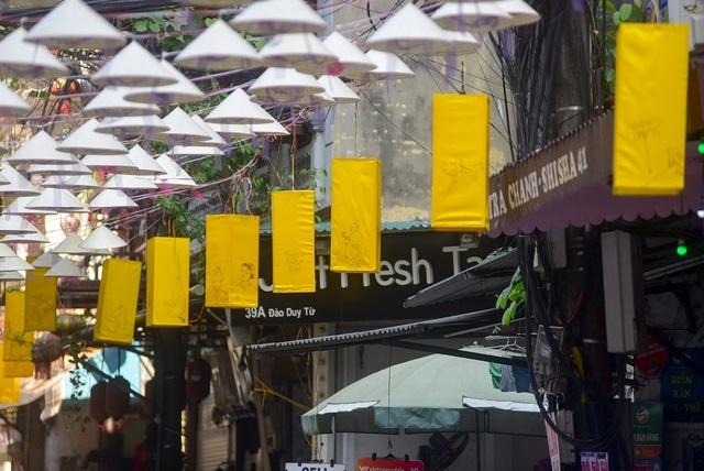 Độc đáo con đường nón lá ở phố cổ Hà Nội - 3