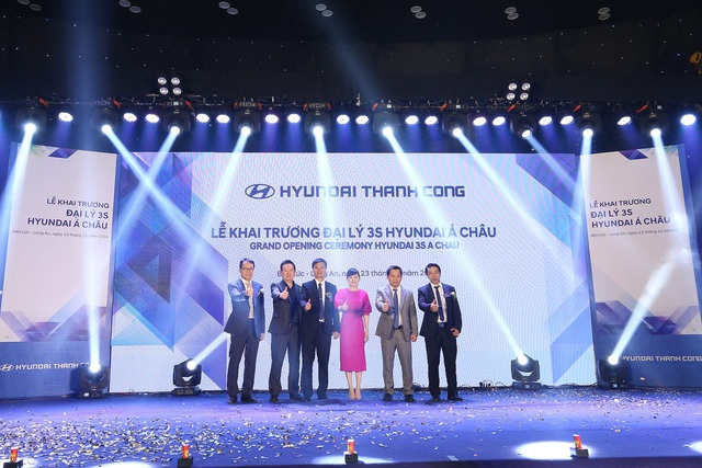 Hyundai Thành Công Thương mại liên tiếp khai trương đại lý mới - 2