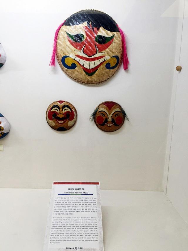 Mặt nạ Việt Nam được trưng bày tại Bảo tàng mặt nạ Hahoe.