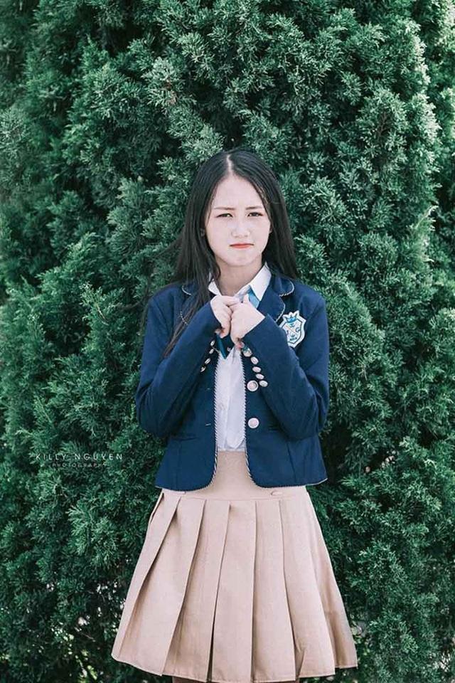 Nữ sinh Nam Định sở hữu nụ cười răng khểnh rất đáng yêu - 7