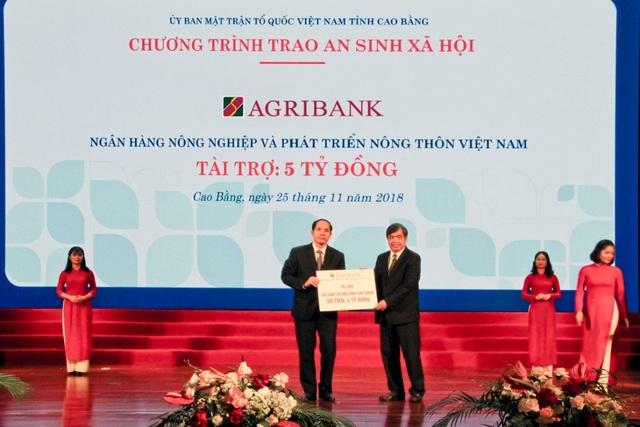 Hơn 700 tỷ đồng được Agribank cam kết đầu tư cho Cao Bằng - 2