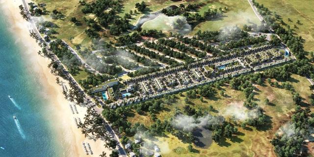 Hàng loạt dự án đổ bộ vào Phan Thiết cuối năm (Hình ảnh dự án GoldSand Hill Villa của Công Ty Lộc Tú)