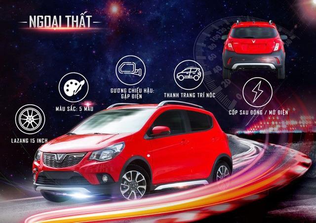 Mang dáng vẻ của CUV (xe việt dã thể thao đa dụng) khoẻ khoắn, mạnh mẽ, VinFast Fadil đã tạo ra một phân khúc CUV mini mới tại Việt Nam