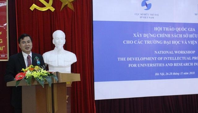 Thứ trưởng Bộ KH&CN Bùi Thế Duy chia sẻ tại Hội thảo.