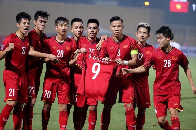 Đội tuyển Việt Nam hiện tại đang có 15 cầu thủ U23 - Ảnh: Gia Hưng