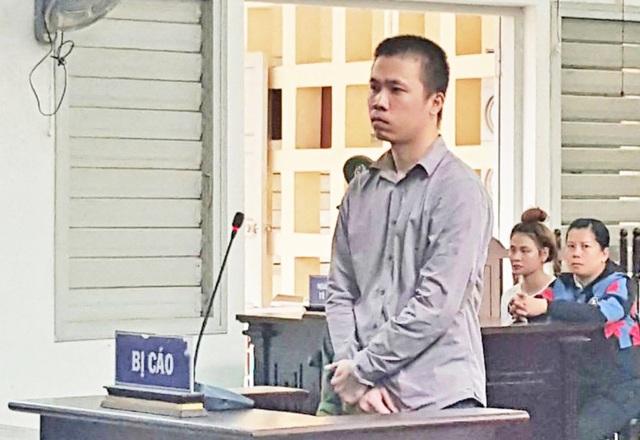Bị cáo Huỳnh Khắc Nguyên tại tòa