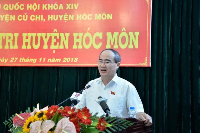 Bí thư Thành ủy TPHCM Nguyễn Thiện Nhân nói về việc xử lý kỷ luật Phó Bí thư thường trực Thành ủy Tất Thành Cang