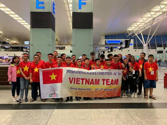 Học sinh Hà Nội thắng lớn ở kỳ thi Khoa học quốc tế ISC 2018 - 1