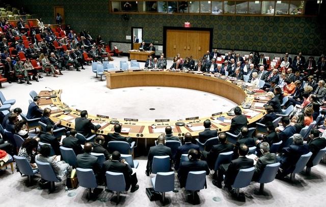 Đa số thành viên Hội đồng Bảo an Liên Hợp Quốc phản đối chương trình nghị sự của Nga cho phiên họp khẩn ngày 26/11. (Ảnh: TASS)