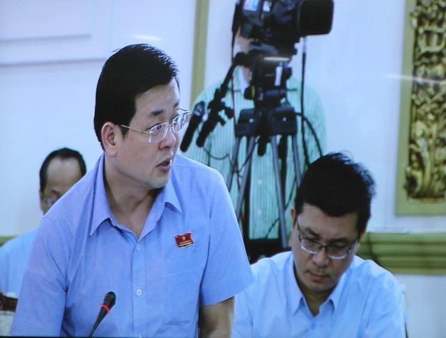 Giám đốc Sở Tài nguyên - Môi trường TP Nguyễn Toàn Thắng