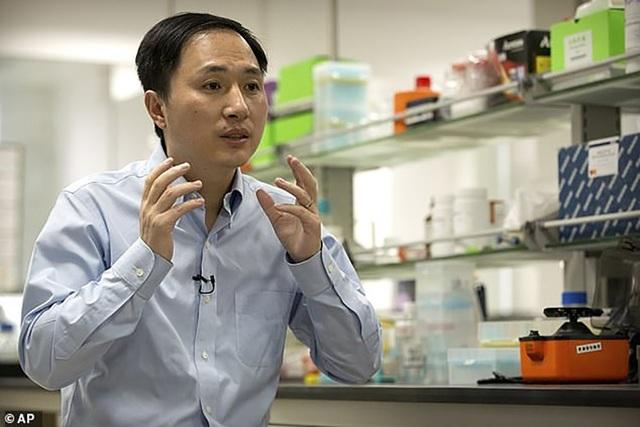 Nhà khoa học He JianKui vừa có tuyên bố gây sốc trong cộng đồng y học.