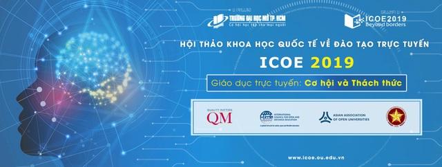 """Hội thảo khoa học """"Đào tạo trực tuyến: Cơ hội và thách thức"""" lần đầu tiên được tổ chức bởi Đại học Mở Thành phố Hồ Chí Minh."""
