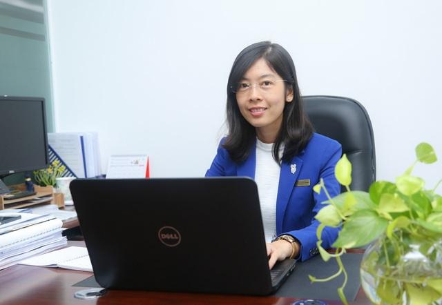 Tiến sĩ Phan Thị Ngọc Thanh - Giám đốc Trung tâm Đào tạo trực tuyến trường Đại học Mở TPHCM.