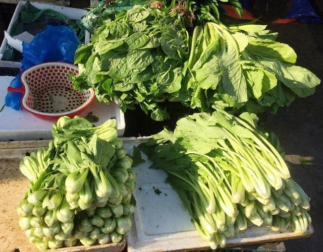 Rau cải ngọt tăng từ 30.000 đồng/1kg lên 32.000 đồng/1kg.