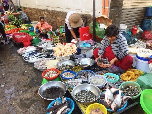 Nguồn cung sản phẩm tại các chợ đã ổn định trở lại trong ngày 27/11.