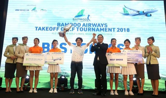 Golfer Lim Sang Cheol xuất sắc trở thành Nhà vô địch của giải với số điểm Gross 70 gậy
