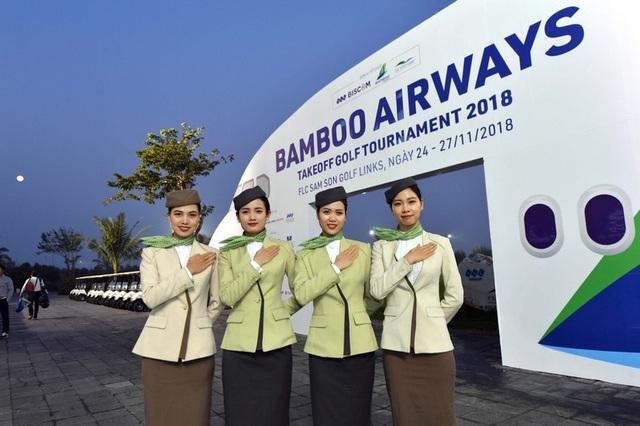Giải golf chào mừng ngày cất cánh do Bamboo Airways tổ chức