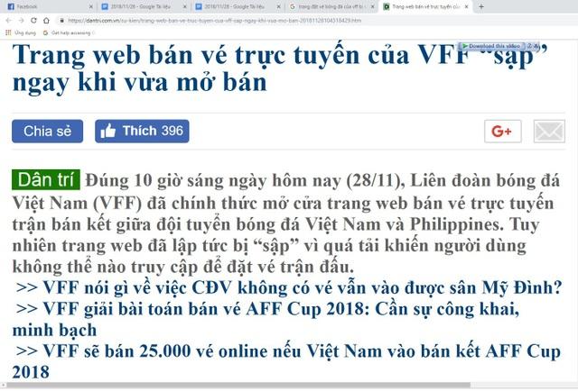 Trang web bán vé trực tuyến của VFF sập ngay khi mở bán, Sony Xperia XZ4 lộ diện - 1