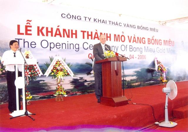Sau 12 năm hoạt động, đến nay các chủ nợ đã biểu quyết cho Công ty TNHH khai thác vàng Bồng Miêu phá sản