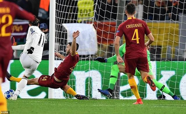 Bale khai thông thế bế tắc cho Real Madrid ở đầu hiệp 2