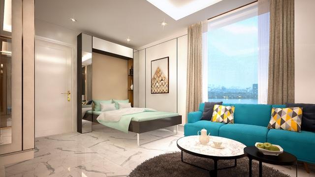 Các căn hộ tại D'. El Dorado đều được thiết kế tối ưu hóa công năng và thân thiện với thiên nhiên