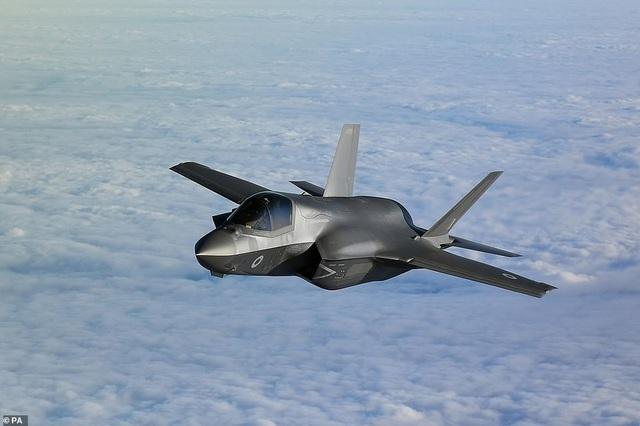 Máy bay F-35B của Anh