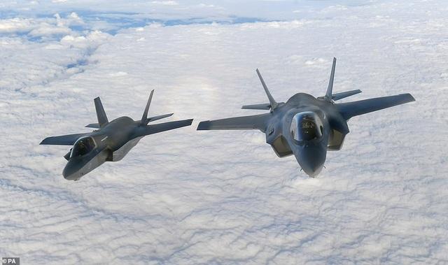 Các máy bay F-35B