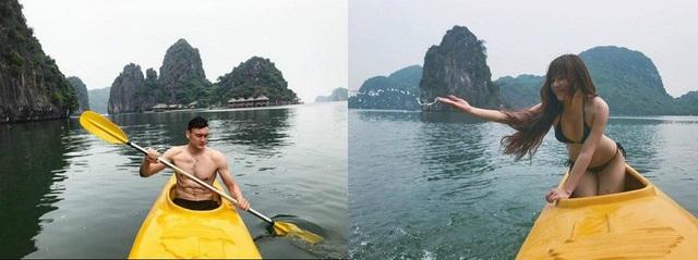 Bạn gái nóng bỏng của thủ thành Văn Lâm bức xúc vì bị đưa ảnh lên ứng dụng hẹn hò - 2