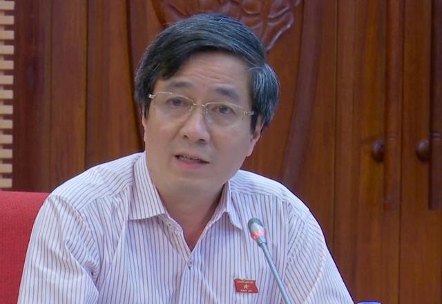Ông Bùi Thanh Tùng – Phó trưởng Đoàn Đại biểu Quốc hội TP Hải Phòng.