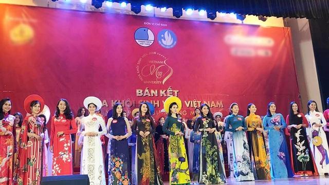 Top 15 cô gái tỏa sáng nhất đêm thi Bán kết Hoa khôi sinh viên Việt Nam 2018 khu vực miền Bắc