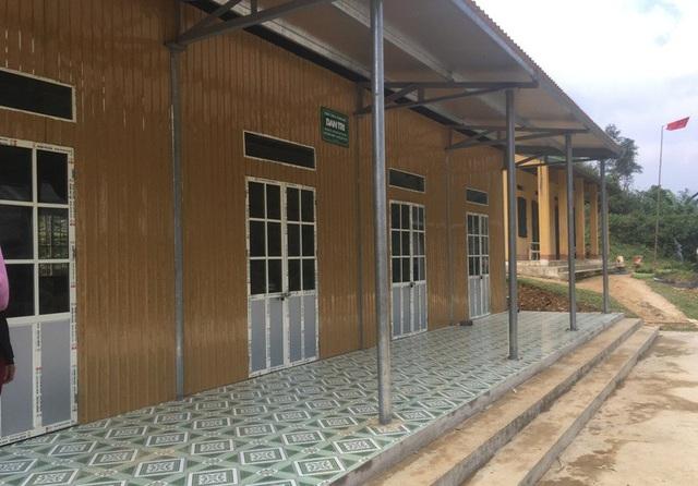 Công trình phòng học Dân trí khang trang, sạch sẽ được xây dựng nơi bản làng xa xôi nhất của huyện Bá Thước.