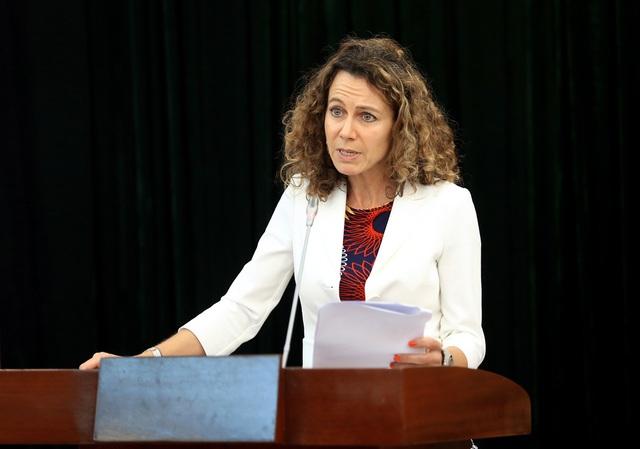 Bà Lien Verbauwhede Koglin, Cố vấn Phòng hỗ trợ khởi nghiệp và doanh nghiệp nhỏ và vừa của WIPO.