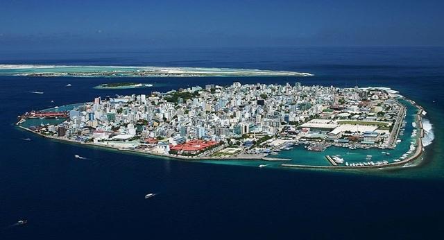 Male, thủ đô của Maldives (Ảnh: Sputnik)