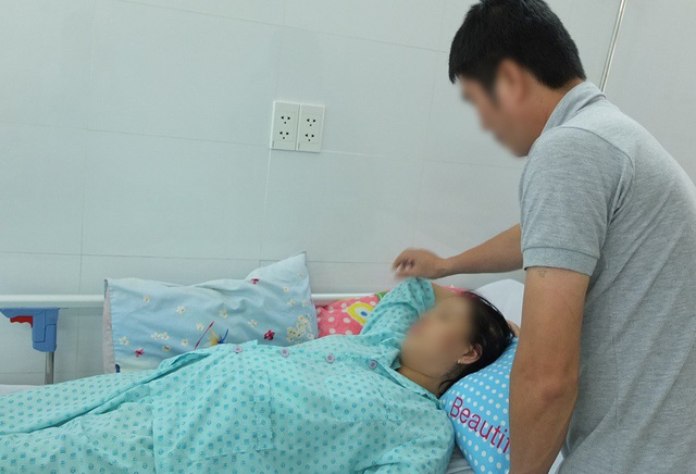 Sau phẫu thuật sức khỏe của thai phụ và cặp song thai đã ổn định