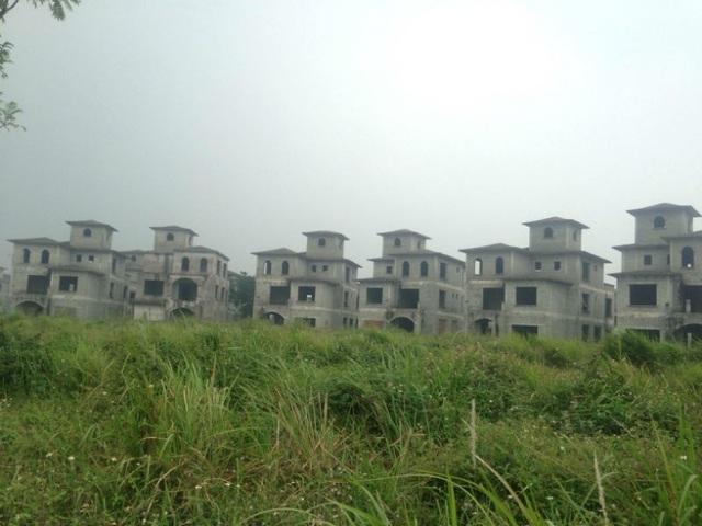 Những căn biệt thự có giá triệu đô (Ảnh: Tuấn Linh)