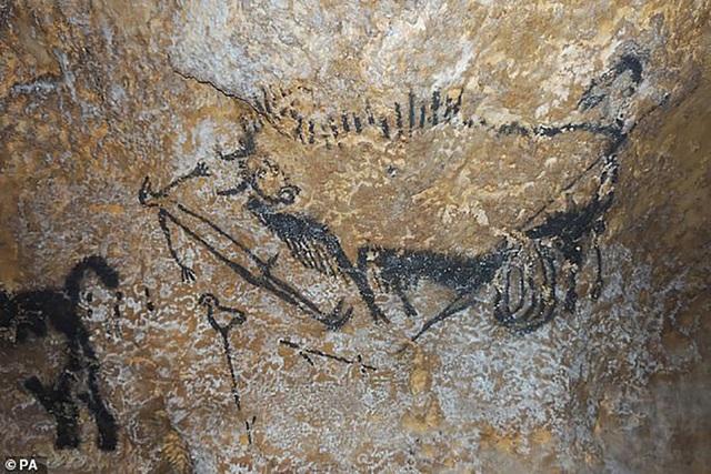 Các nhà khảo cổ học phát hiện những bức tranh khắc cổ trên hang đá cổ đại chính là biểu tượng của các chòm sao.