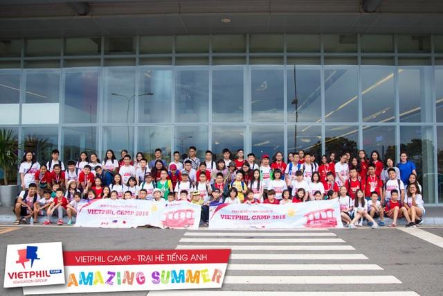Đoàn học sinh tham dự Trại hè tiếng Anh tại Philippines