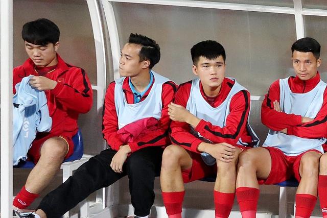 Việc Xuân Trường (bìa trái) ngồi dự bi trong các trận gần đây của đội tuyển Việt Nam đơn thuần do yêu cầu về mặt chiến thuật (ảnh: Gia Hưng)