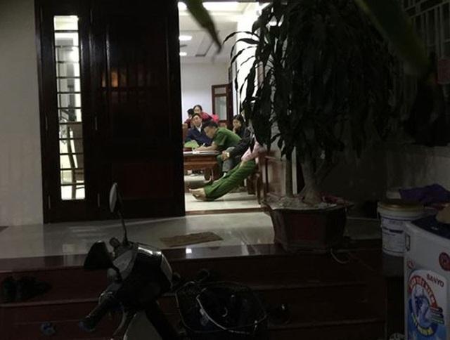Nhà riêng của bị can Lê Thị Vân Anh.