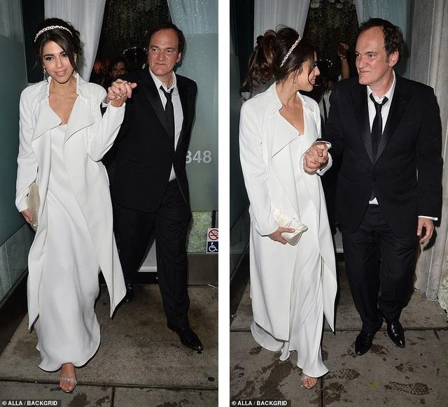 Đạo diễn quái kiệt Quentin Tarantino cưới vợ lần đầu ở tuổi 55 - 29