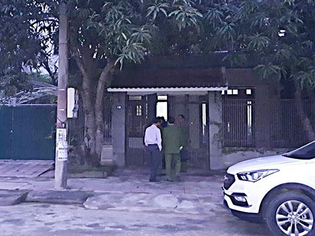 Cơ quan CSĐT tiến hành khám xét nhà bị can Kiều Đình Hòa